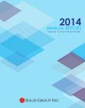 SGI Annual Report 2014